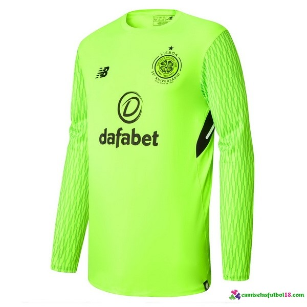 Camiseta 1ª Kit ML Celtic Portero 2017 2018